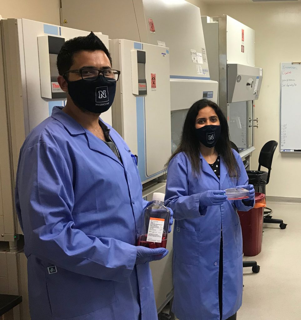 Scientists at UNR working on SARS-CoV-2 research